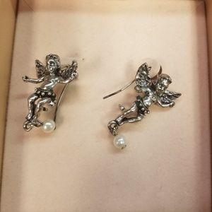 Fairy/Angel Kirks Folly Wire Earring